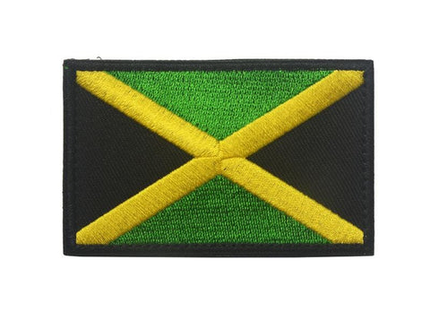 Jamaica Flag Embroidered iron on Patch RLW2088