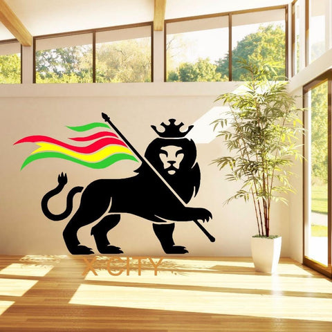 Lion of Judah Giant Wall Sticker Vinyl Art Decal RLW1035
