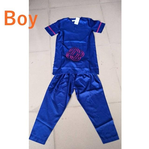 African kids/boys and girls Dashiki 2 piece set outfit RLW2186