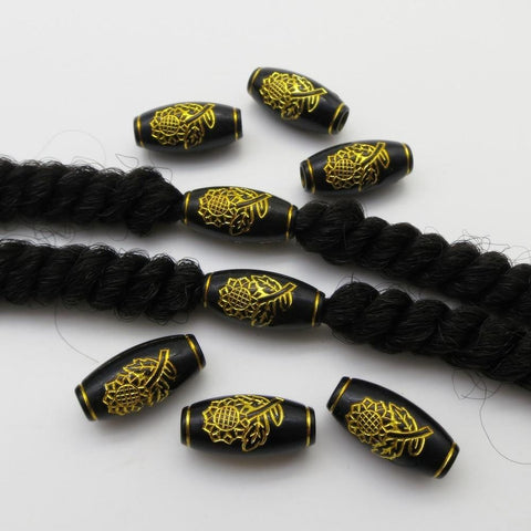 10pcs-20pcs hair braid dread dreadlock Beads RLW2407