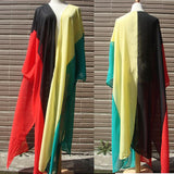 Rasta  Beach Cover up Dress RLW1549