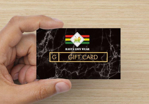 Rasta Lion Wear Digital Gift Card RLW1591