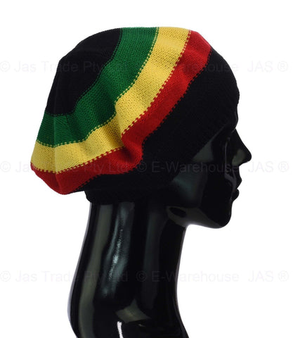 Red gold and green Hat Beanie Beret RLW365