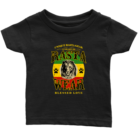 Cool Rasta Lion Wear Infant T-Shirt RLW45