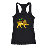 Cool lion of Judah women's t-back RLW566