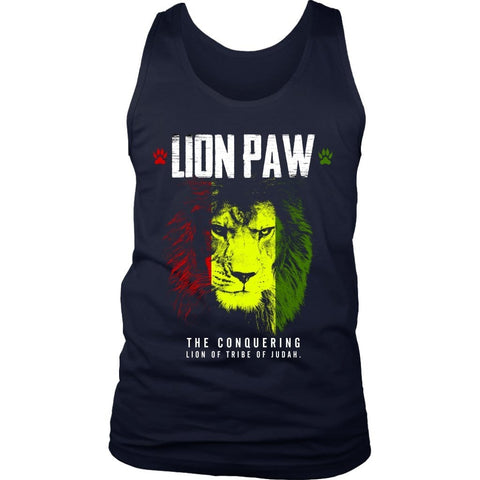 Lion Paw Men's Tank RLW847