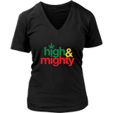 High and Mighty women's V-neck T-hirt RLW813