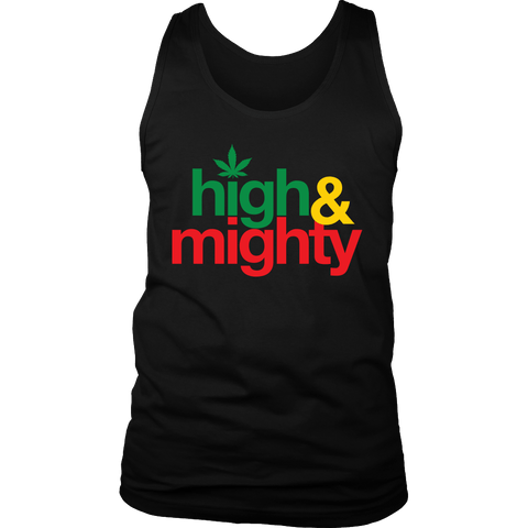High and Mighty Men's Tank RLW814