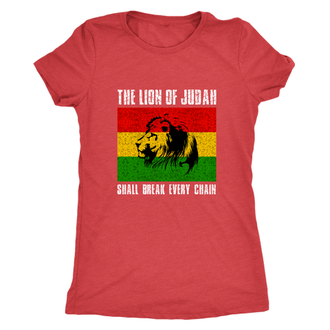 Break every chain Ladies t-shirt RLW470
