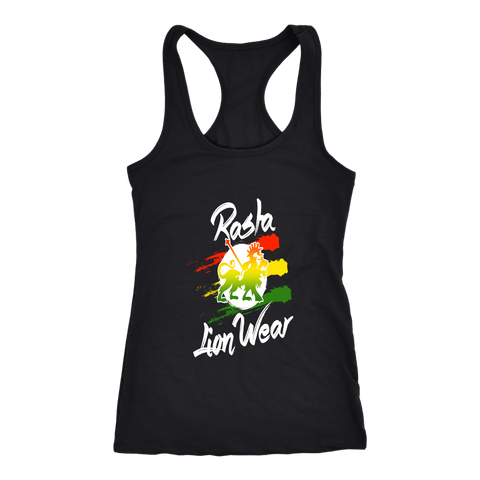 Original Rasta Lion Wear Ladies T-Back RLW446