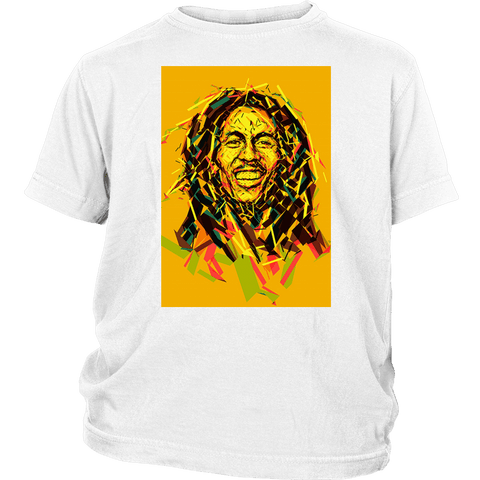 Bob Marley Graffiti cool youth t-shirt RLW526