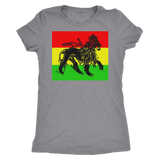 Cool Lion of judah Ladies T-shirt RLW603