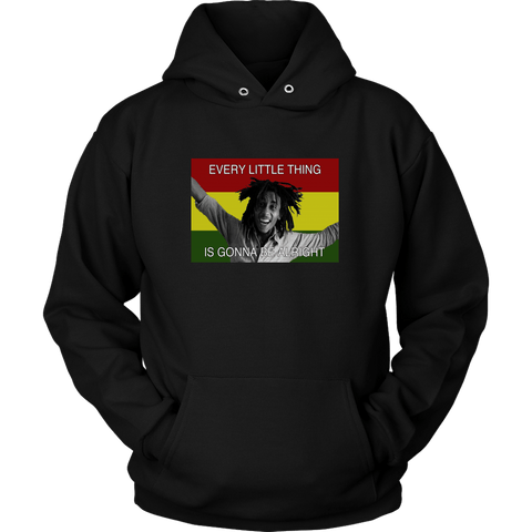 Every little thing is gonna be alright Unisex Hoodie RLW440