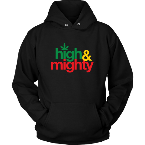 High and mighty Cool Unisex Hoodie RLW40