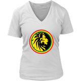 Lion of Judah Women's V-Neck T-Shirt RLW493