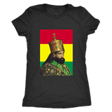 Haile Selassie Ladies T-shirt RLW835