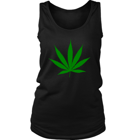 herb leaf women's tank RLW422