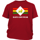 Rasta Lion Wear Original Youth T-Shirt RLW536