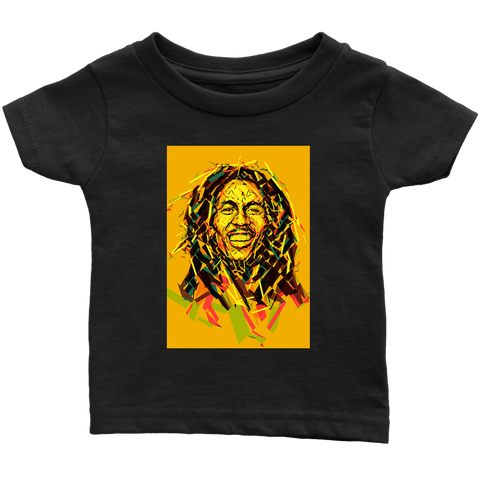 Bob Marley Graffiti cool Infant T-shirt RLW518