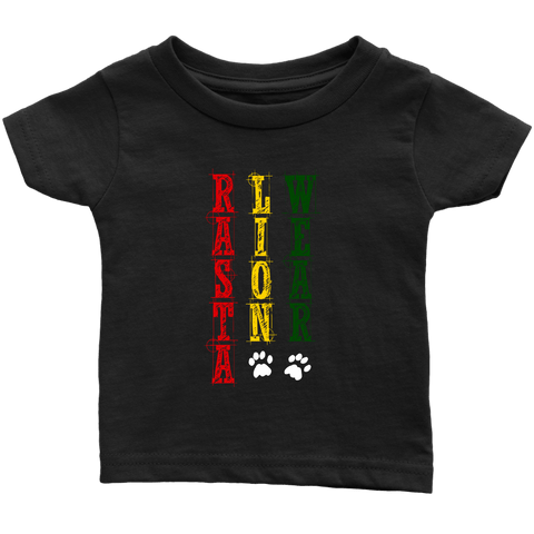 Original Rasta lion wear infant T-shirt RLW484