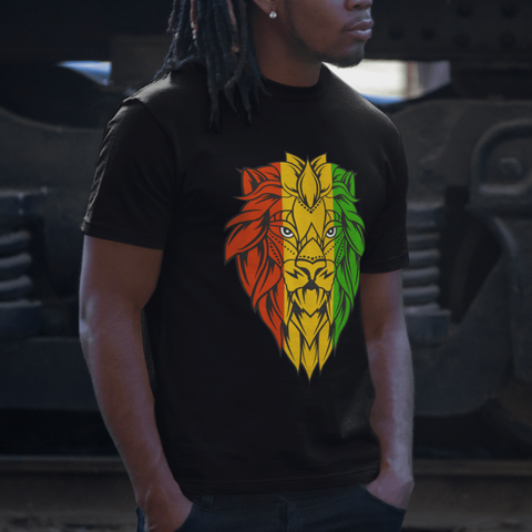 Lion of Judah Men's t-shirt RLW1100