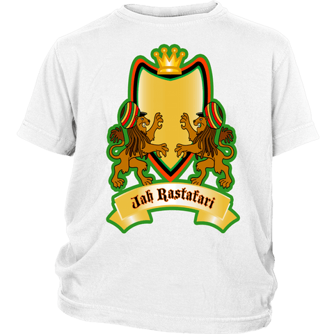 Jah Rastafari youth t-shirt RLW1470