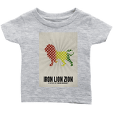 Iron Lion Zion Infant T-Shirts RLW1256