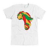 African map Lion Men's T-shirt RLW1368