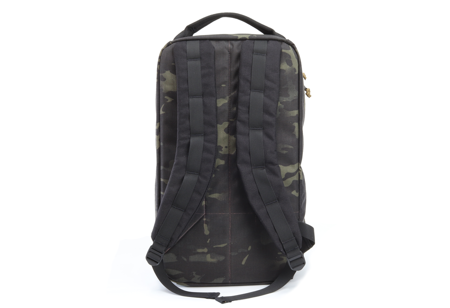 Multicam Black w/ black straps and OD Green Webbing - Garage Built Gear