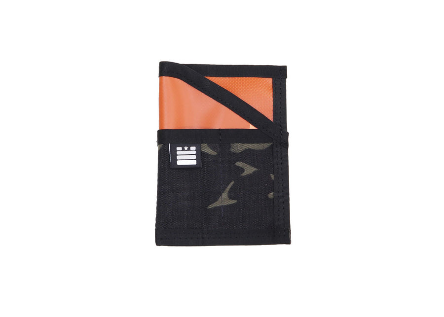 Field Note Pocket Caddy - Multicam Black/Orange - Garage Built Gear