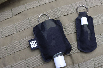 Sanitizer/Lip Balm Key Fob - Garage Built Gear