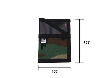 Field Note Pocket Caddy - Woodland/Black - Garage Built Gear