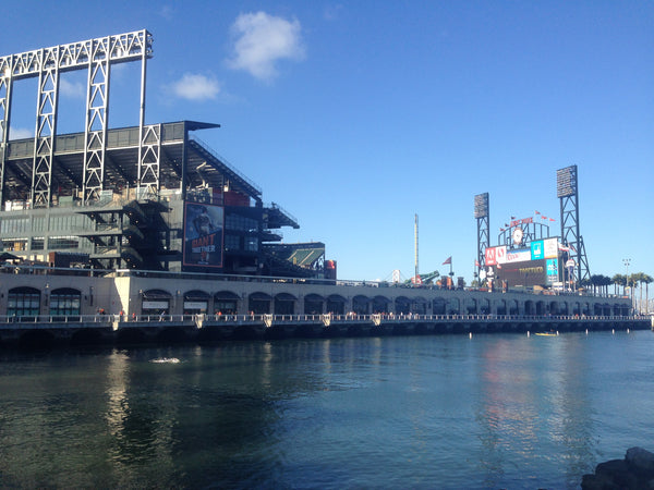 "AT&T Park San Francisco Giants Adhesive Wall Graphic (24""x36"")"