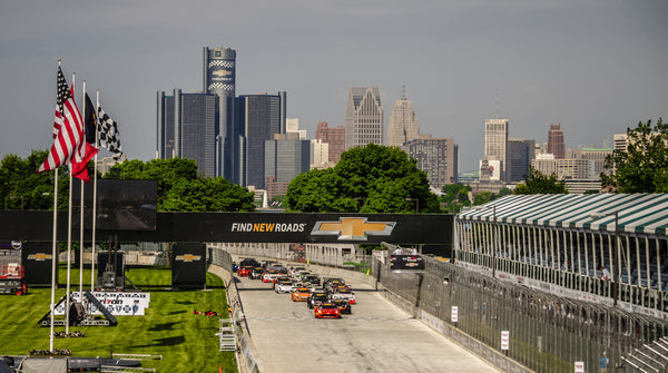 "Detroit Belle Isle Grand Prix Canvas Wrap (20""x16""x1.5"")"