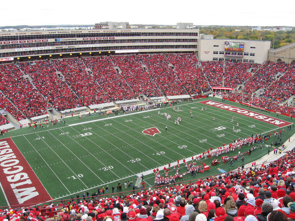 "Camp Randall Stadium Wisconsin Football Paper Poster (24""x36"")"