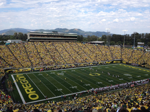"Autzen Stadium Oregon Ducks Football Canvas Wrap (20""x16""x1.5"")"