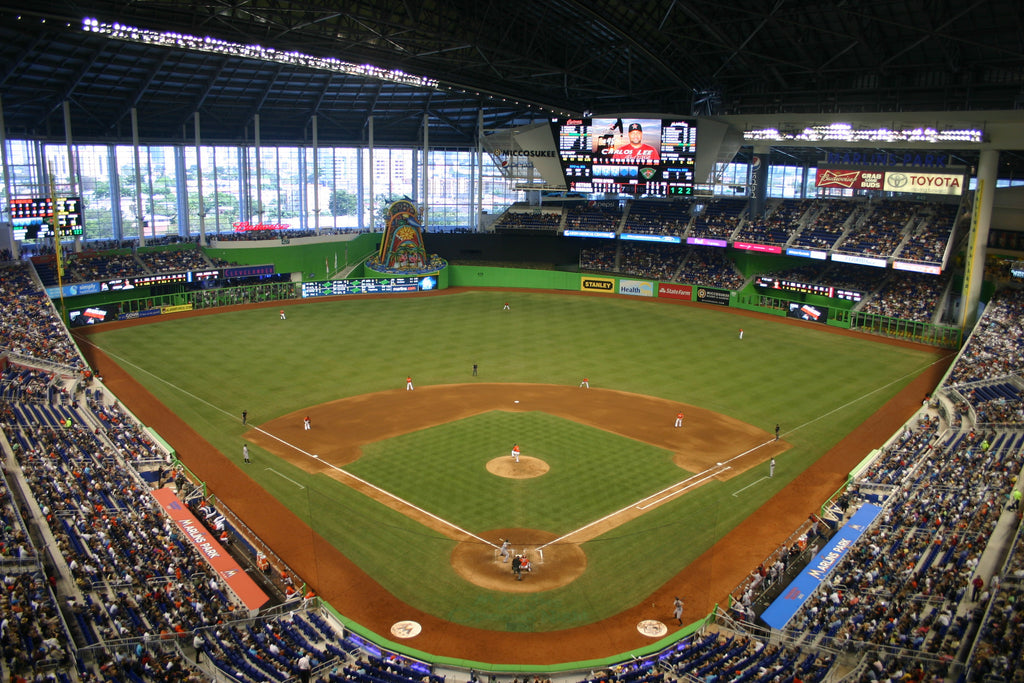 "Marlins Park Miami Marlins Canvas Wrap (20""x16""x1.5"")"