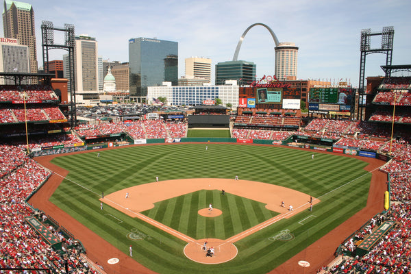 "Busch Stadium St Louis Cardinals Adhesive Wall Graphic (24""x36"")"