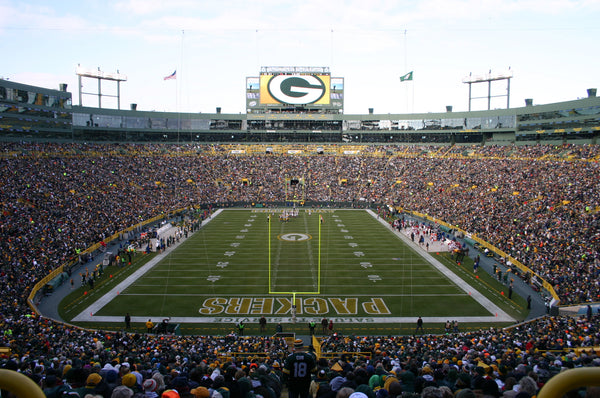 "Lambeau Field Green Bay Packers Canvas Wrap (20""x16""x1.5"")"