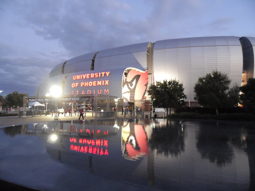 "University of Phoenix Stadium Arizona Cardinals Adhesive Wall Graphic (24""x36"")"