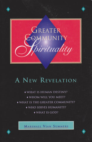 M. V. Summers - Greater Community Spirituality