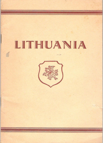 Lithuania. Country and nation, 1946, Augsburg
