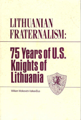 William Valkavičius - Lithuanian Fraternalism, Brooklyn, 1988