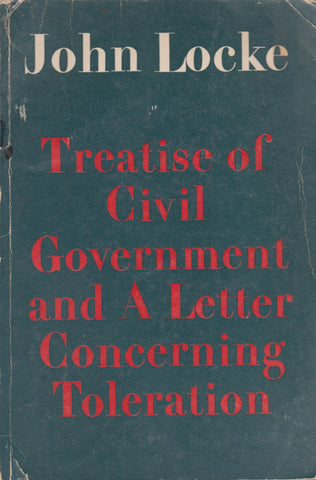J. Locke - Treatise of civil government and A letter concerning toleration, 1937
