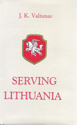 J.K.Valiunas - Serving Lithuania, NY, 1988 m.