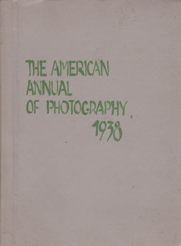 The American Annual Photography - 1938