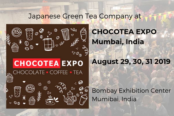 Japanese Green Tea Company at ChocoTea Expo, Mumbai India