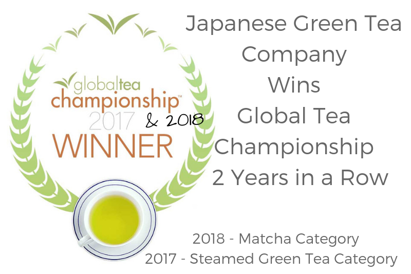 Japanese Green Tea Company Wins Global Tea Championship 2 Years in a Row