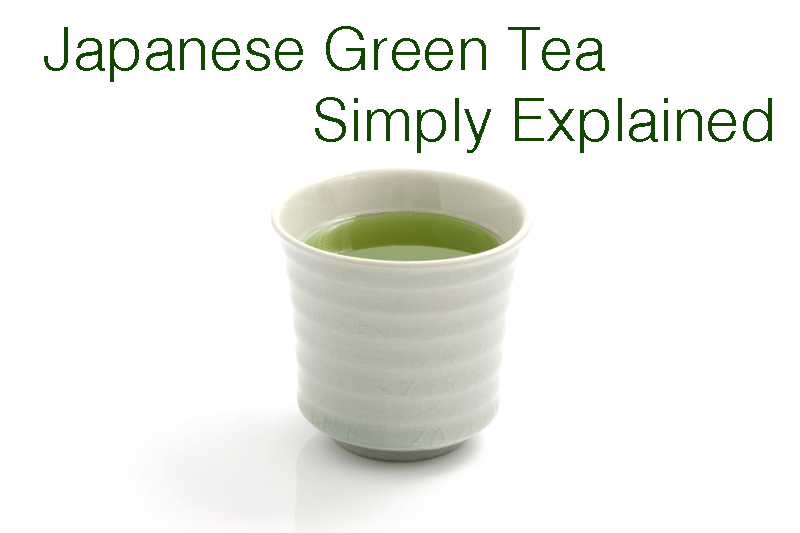 JAPANESE GREEN TEA - SIMPLY EXPLAINED