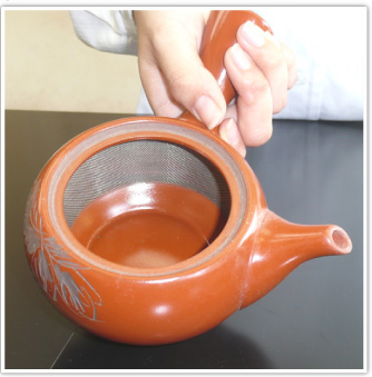 Fukamushi Tea Pot (Japanese Deep Steam Green Tea Pot)